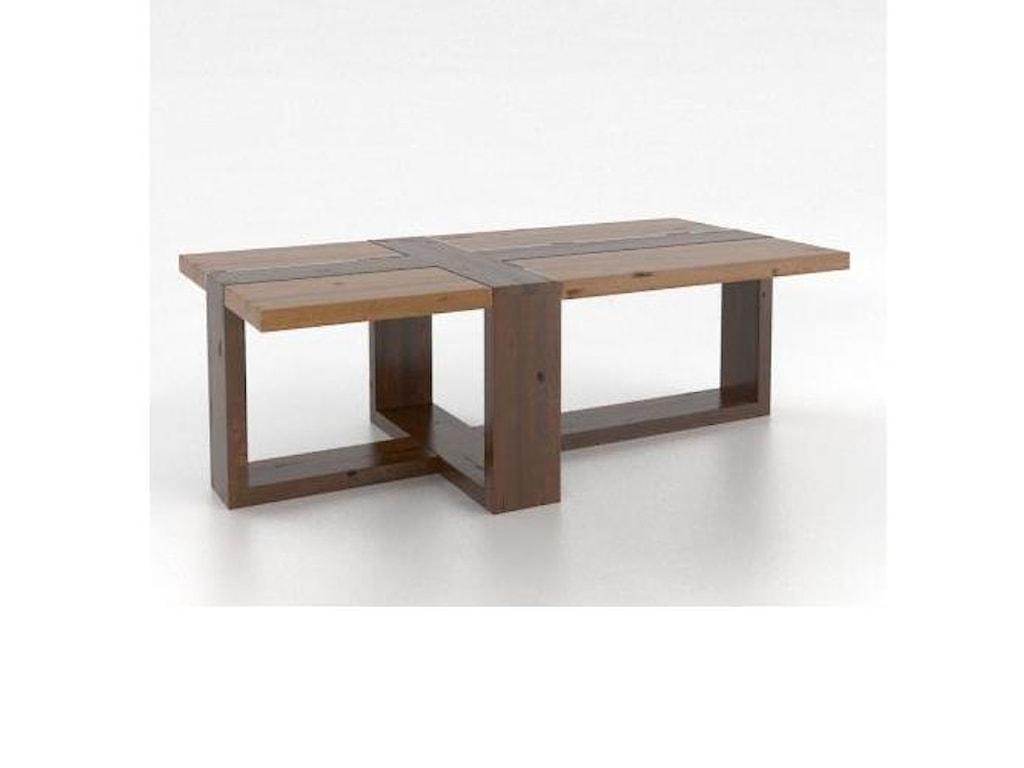 Canadel Loft - Living<b>Customizable</b> Rectangular Coffee Table
