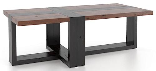 Canadel Loft - Living Customizable Rectangular Coffee Table
