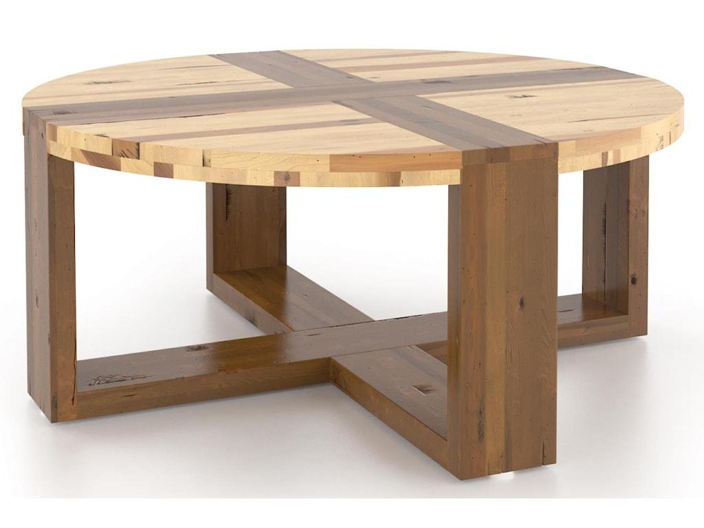 Canadel Loft - Living<b>Customizable</b> Round Coffee Table