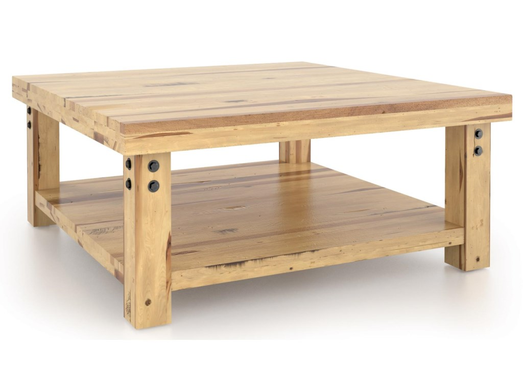 Canadel Loft - Living<b>Customizable</b> Square Coffee Table