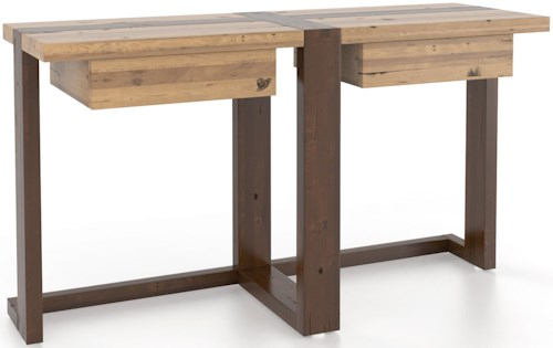 Canadel Loft - Living Customizable Sofa Table