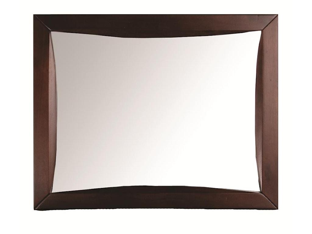 Morris Home Furnishings CantonCanton Landscape Mirror