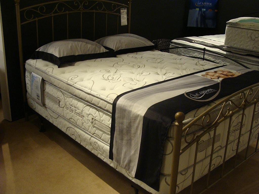 Capitol Bedding GrandeurQueen Firm Mattress Set