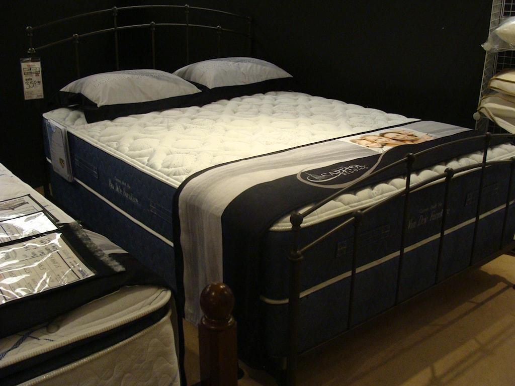 Capitol Bedding Melbourne FirmQueen Innerspring Mattress Set