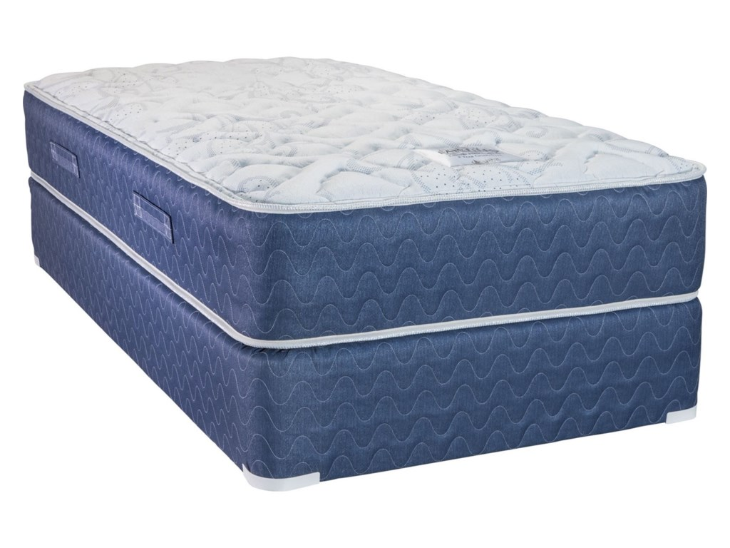 Capitol Bedding Melbourne FirmFull Innerspring Low Profile Set