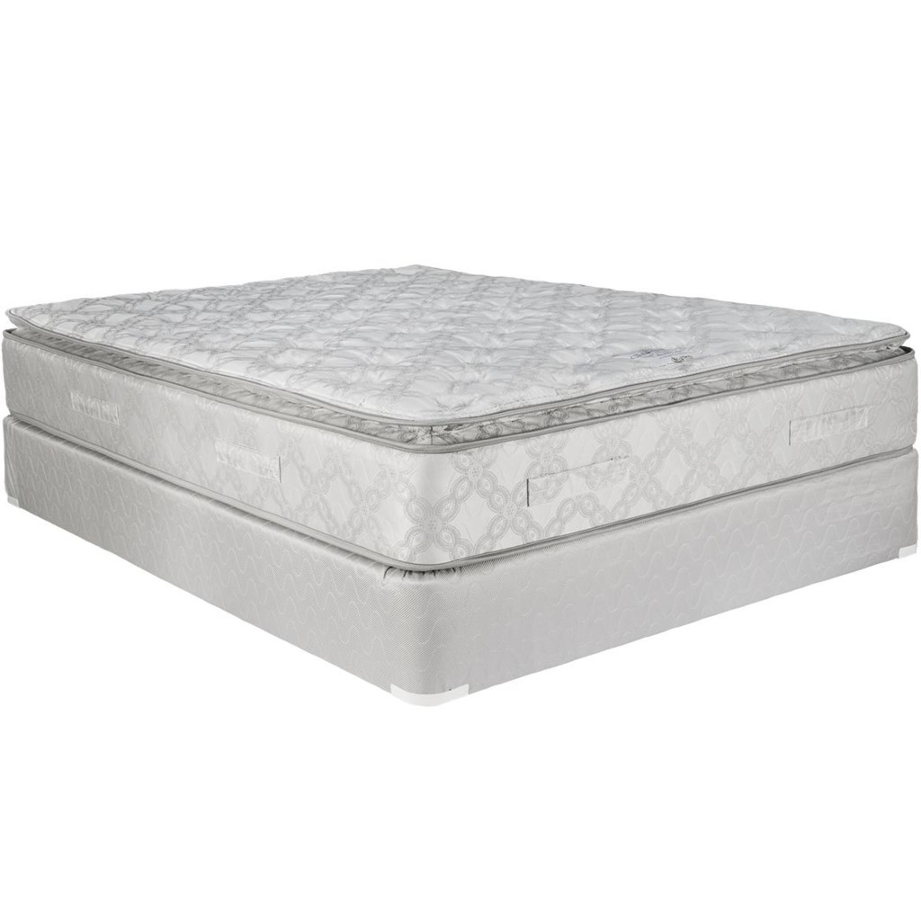 Capitol Bedding Claremont Queen Pillow Top Mattress And Foundation
