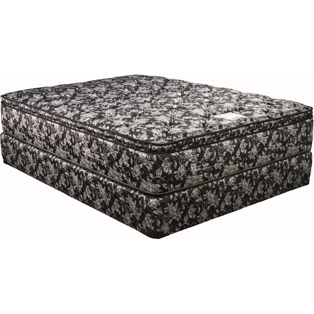Capitol Bedding Comfort Deluxe Euro Top Queen Euro Top Mattress And