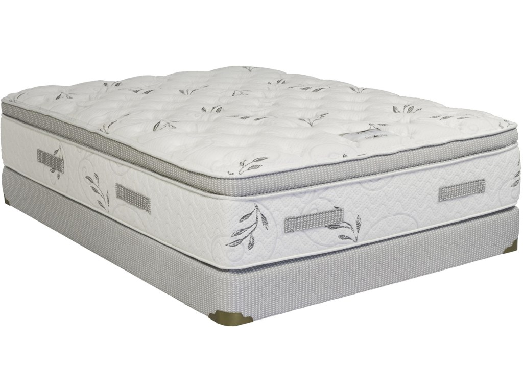 Capitol Bedding OpulenceTwin Pillow Top Low Profile Set