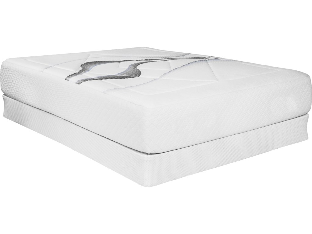 Capitol Bedding Evening DreamsTwin Plush Mattress Set