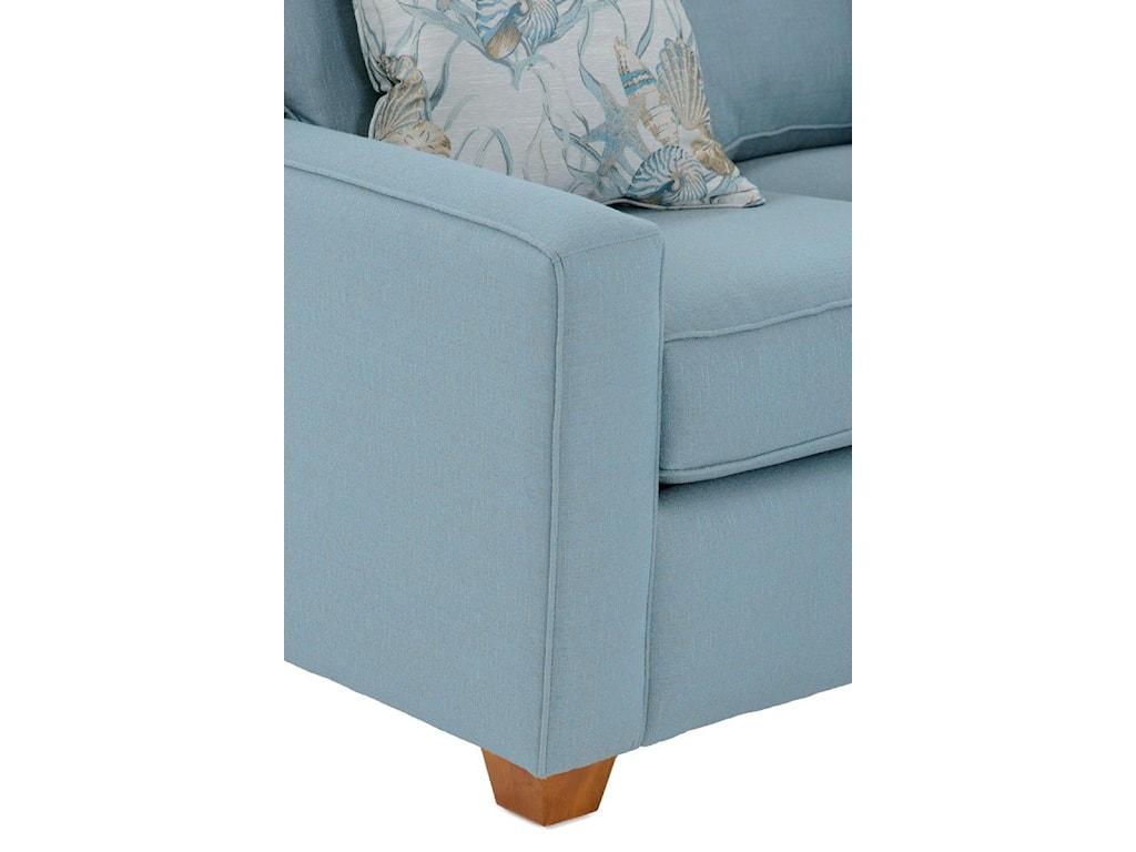 Capris Furniture 1453 Pc Sectional Sofa