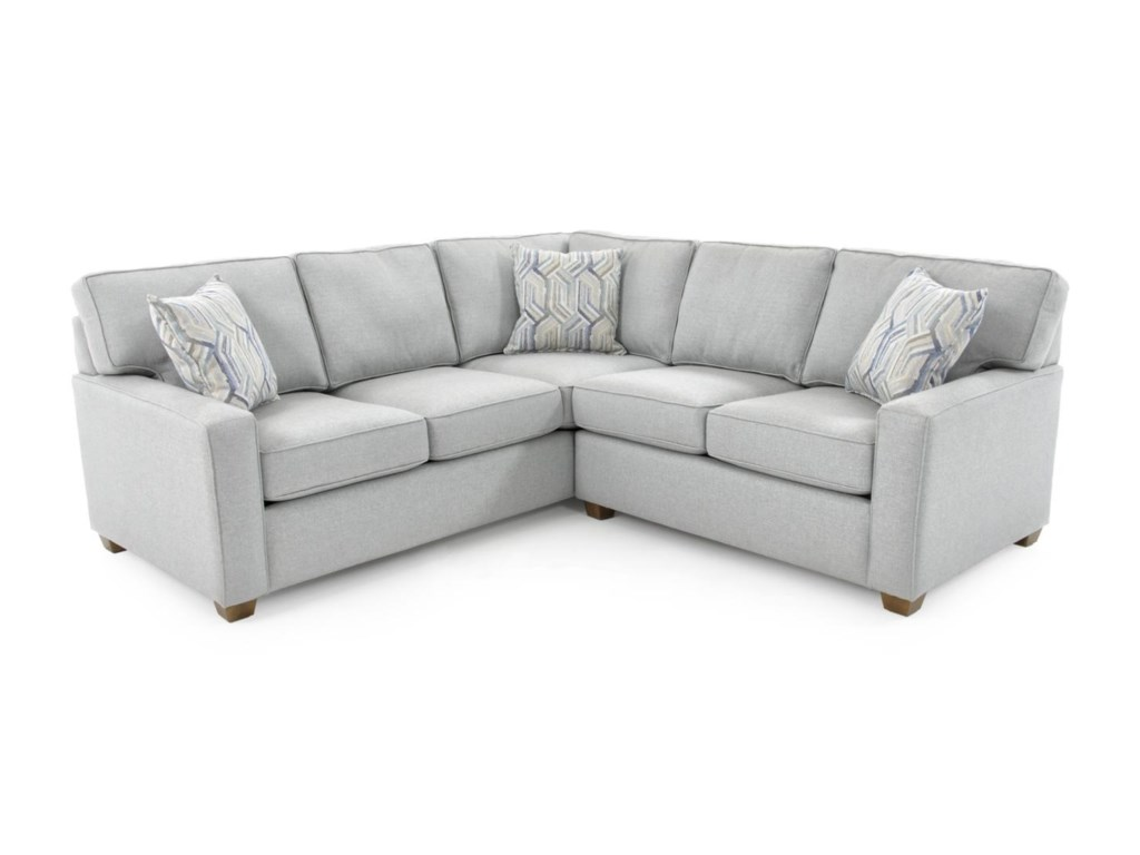 Capris Furniture 1452 Pc Corner Sectional Sofa
