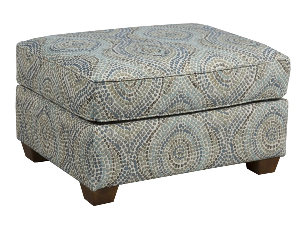 Capris Furniture 145Ottoman