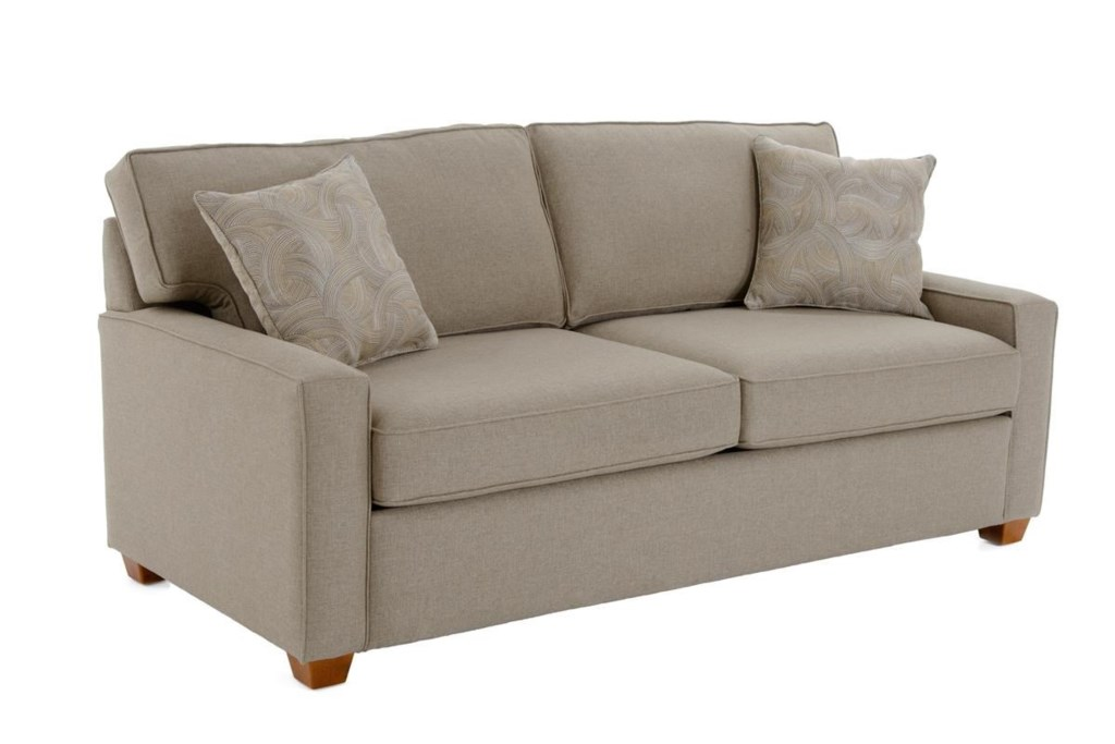 Capris Furniture 146 Contemporary Queen Sleeper Sofa with Cozy