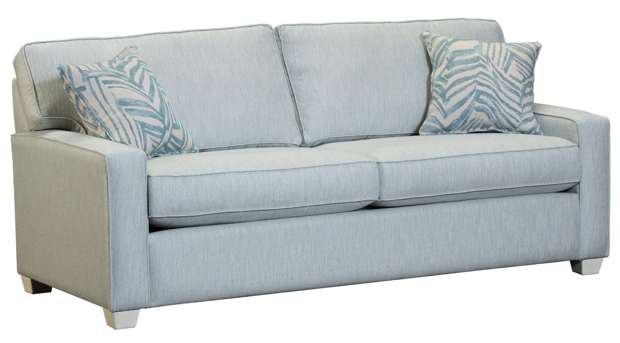 Capris Furniture 146 Contemporary Queen Sleeper Sofa With Cozy Mattress