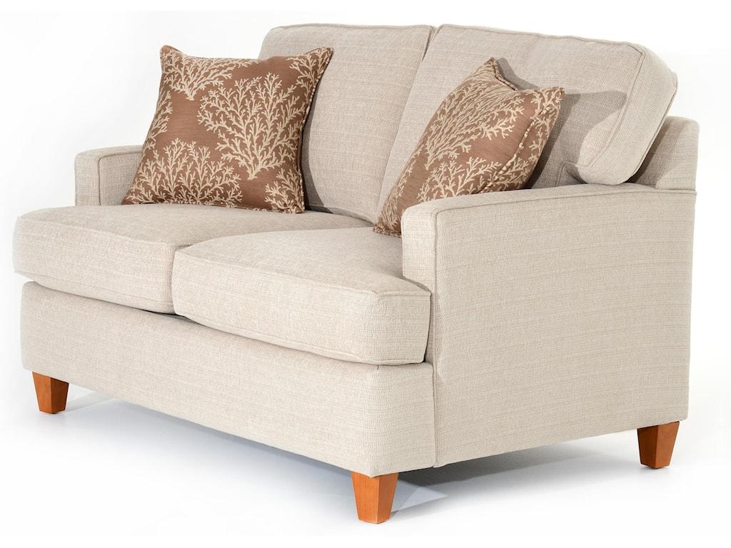 Capris Furniture 162Loveseat