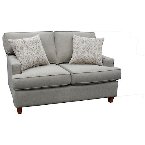 Capris Furniture 162 Contemporary Loveseat