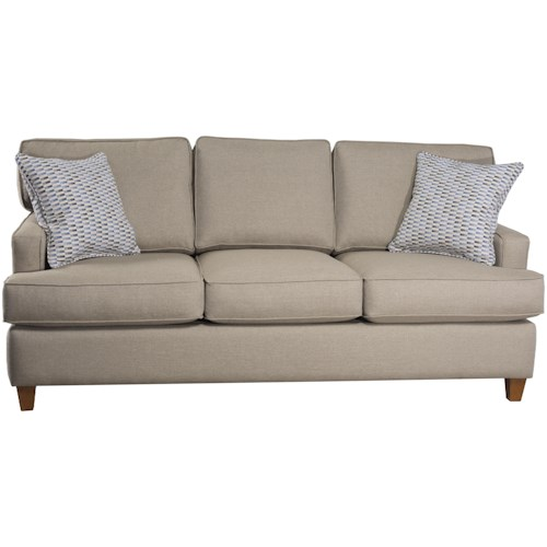 Capris Furniture 162 Contemporary Small-Scale Sofa