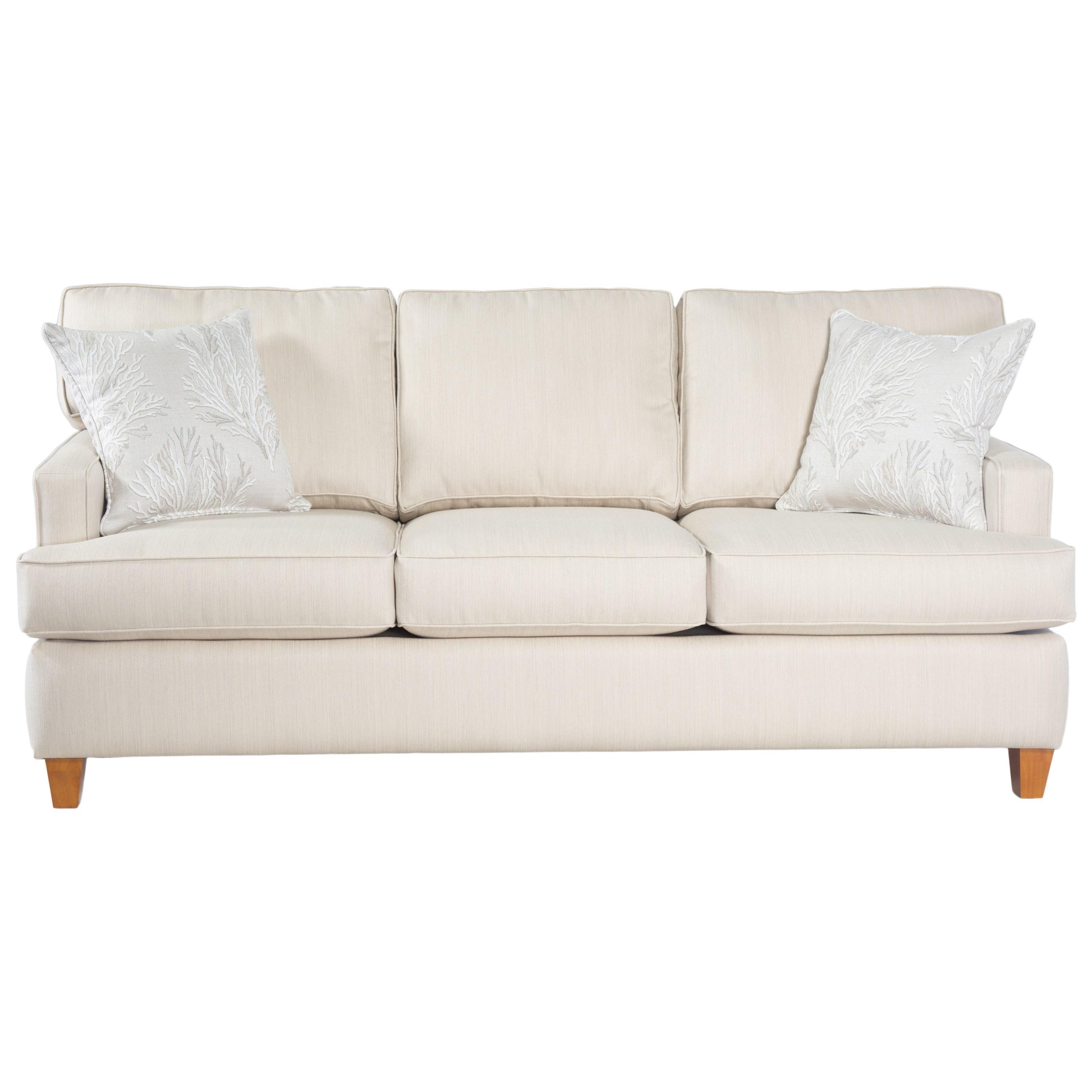 Perfect Capris Furniture 162 Contemporary Small Scale Sleeper Sofa   Hudsonu0027s  Furniture   Sleeper Sofas