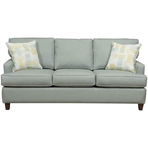 Capris Furniture 162 Contemporary Small-Scale Sleeper Sofa