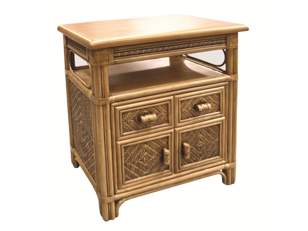 Capris Furniture 321 CollectionWicker Rattan Cabinet
