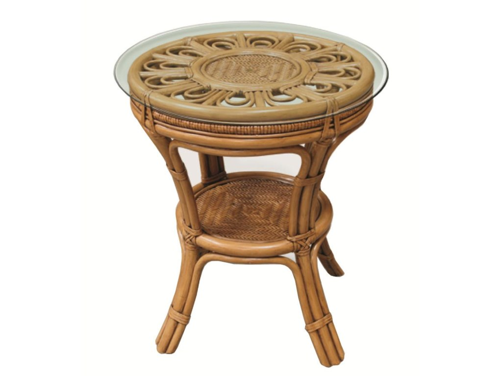 Capris Furniture 321 CollectionLamp Table