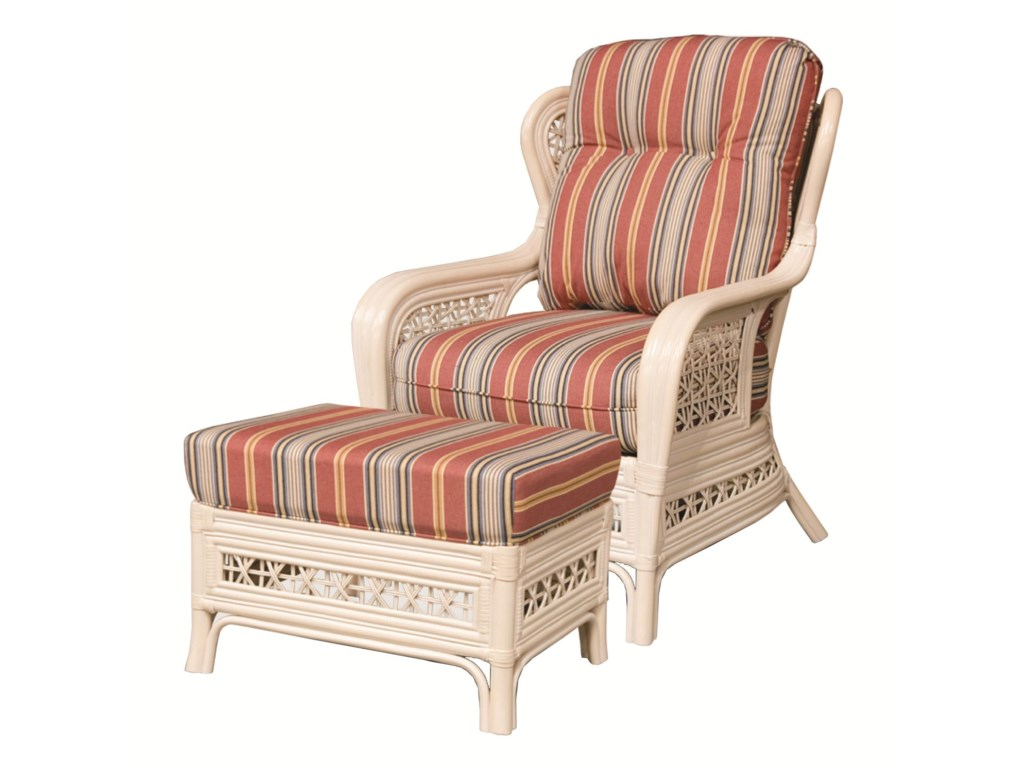 Capris Furniture 341 CollectionOttoman
