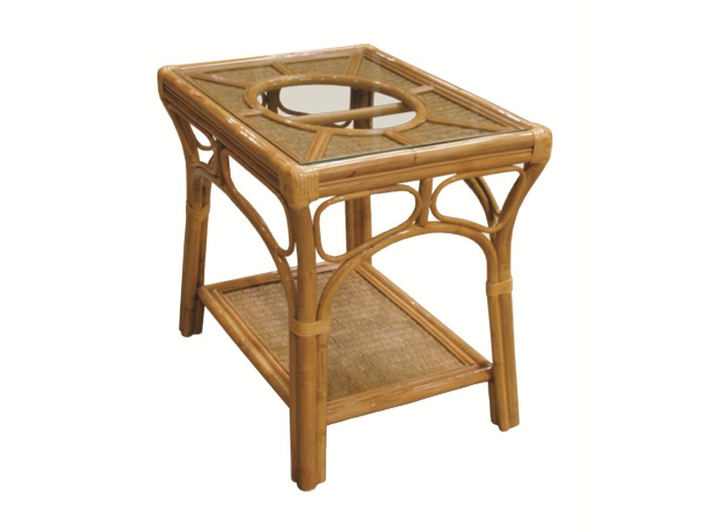 Capris Furniture 381 CollectionLamp Table