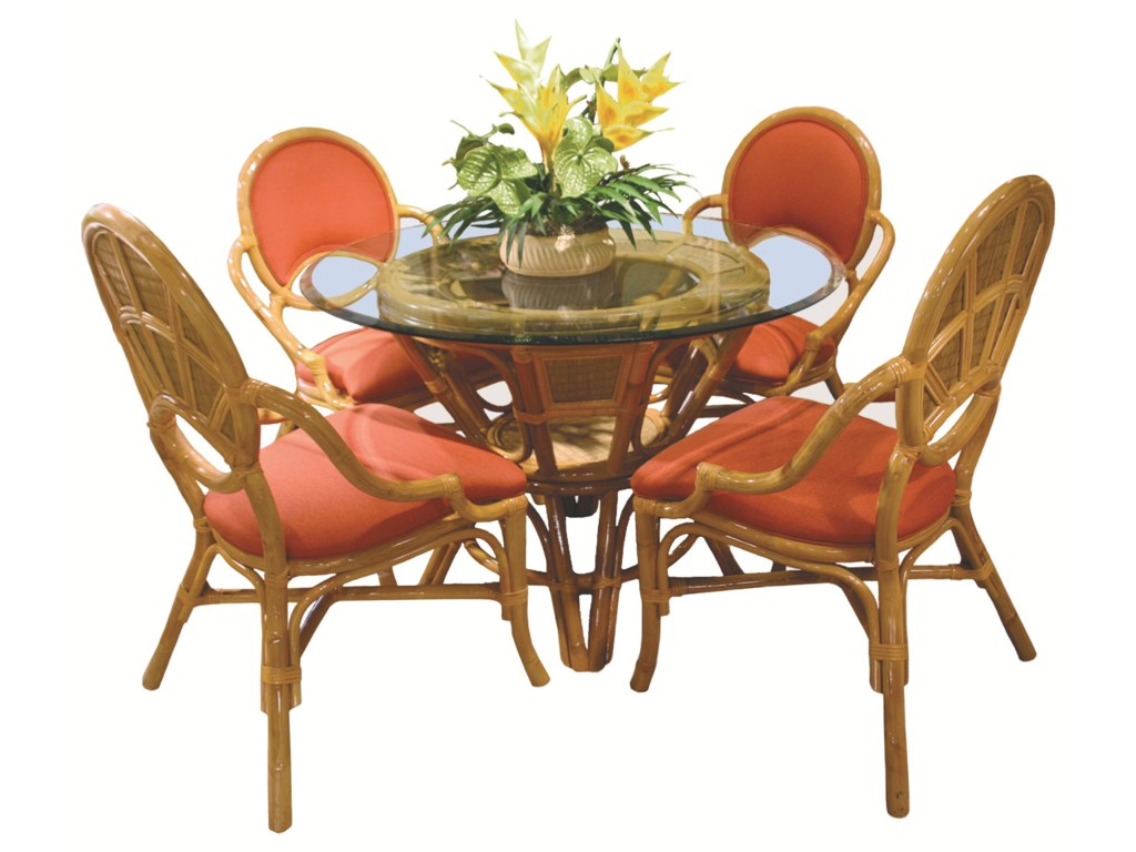 Shown With Coordinating Arm Chairs