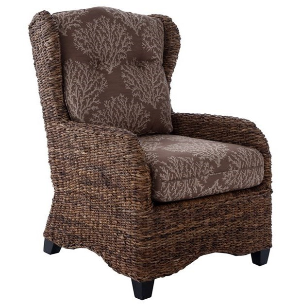 Capris Furniture 700Woven Accent Chair