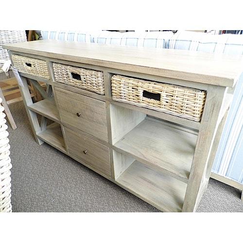 Capris Furniture 752 BU752 Plasma Table