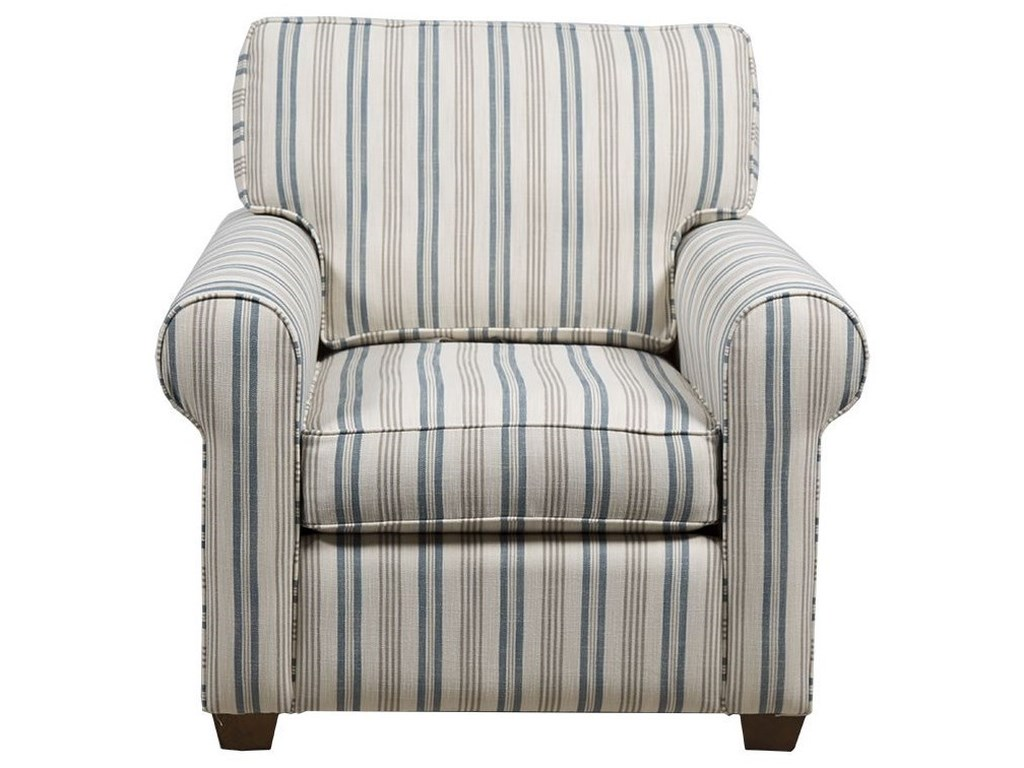 Capris Furniture 912 Casual Chair Howell Furniture Upholstered