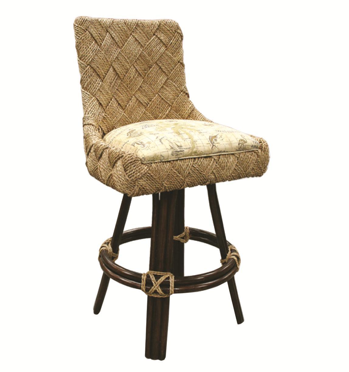 Capris Furniture Barstools Woven Back Bar Stool   Hudsonu0027s Furniture   Bar  Stool