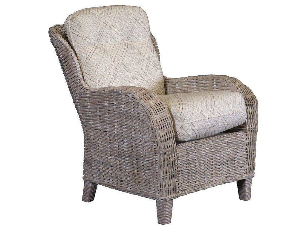 Wicker Accent Chairs.Capris Furniture Chairs And Ottomans Weathered Grey Wicker Accent