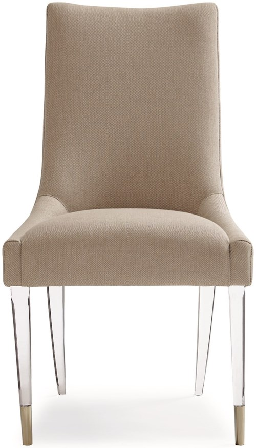Caracole Classic Contemporary by Caracole I'm Floating - Dining Side Chair