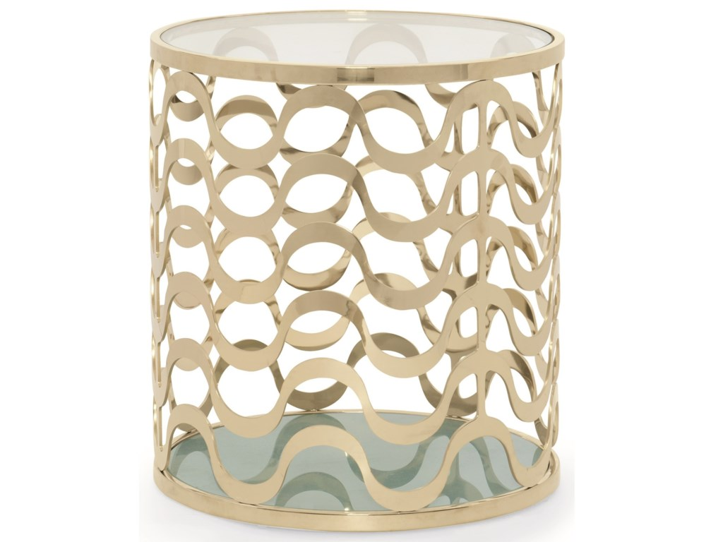 Caracole Classic ContemporaryCatch a Wave End Table