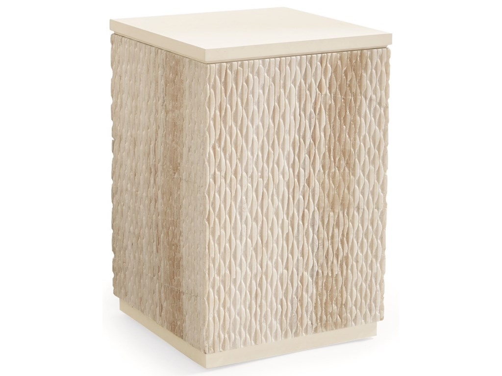 Caracole Classic Contemporary by CaracoleCarved In Stone - End Table