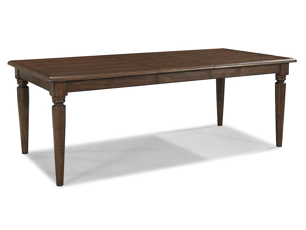 Carolina Preserves by Klaussner Blue RidgeRectangular Table with Leaf