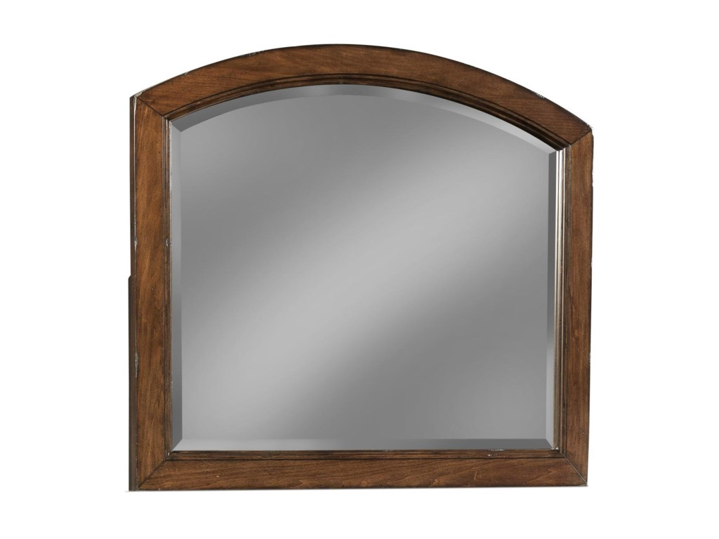 Carolina Preserves by Klaussner Blue RidgeCherry Arched Mirror