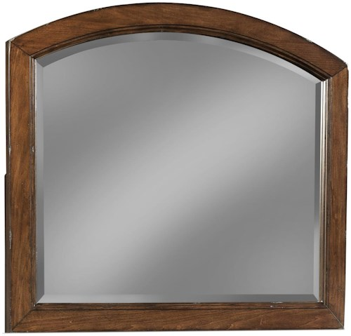 Carolina Preserves by Klaussner Blue Ridge Cherry Arched Mirror