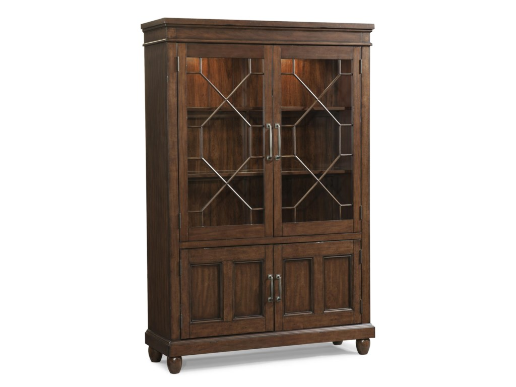 Carolina Preserves by Klaussner Blue Ridge Dining Room Curio   Hudson s  Furniture   China Cabinet. Carolina Preserves by Klaussner Blue Ridge Dining Room Curio