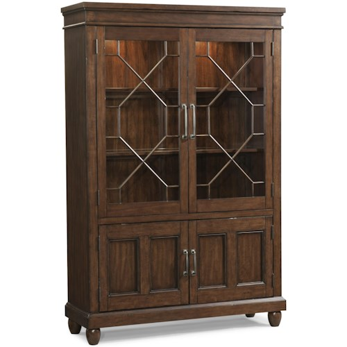 Carolina Preserves by Klaussner Blue Ridge Dining Room Curio