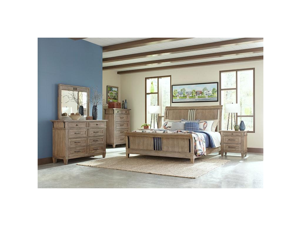 Carolina Preserves by Klaussner Reflections King Bedroom Group ...