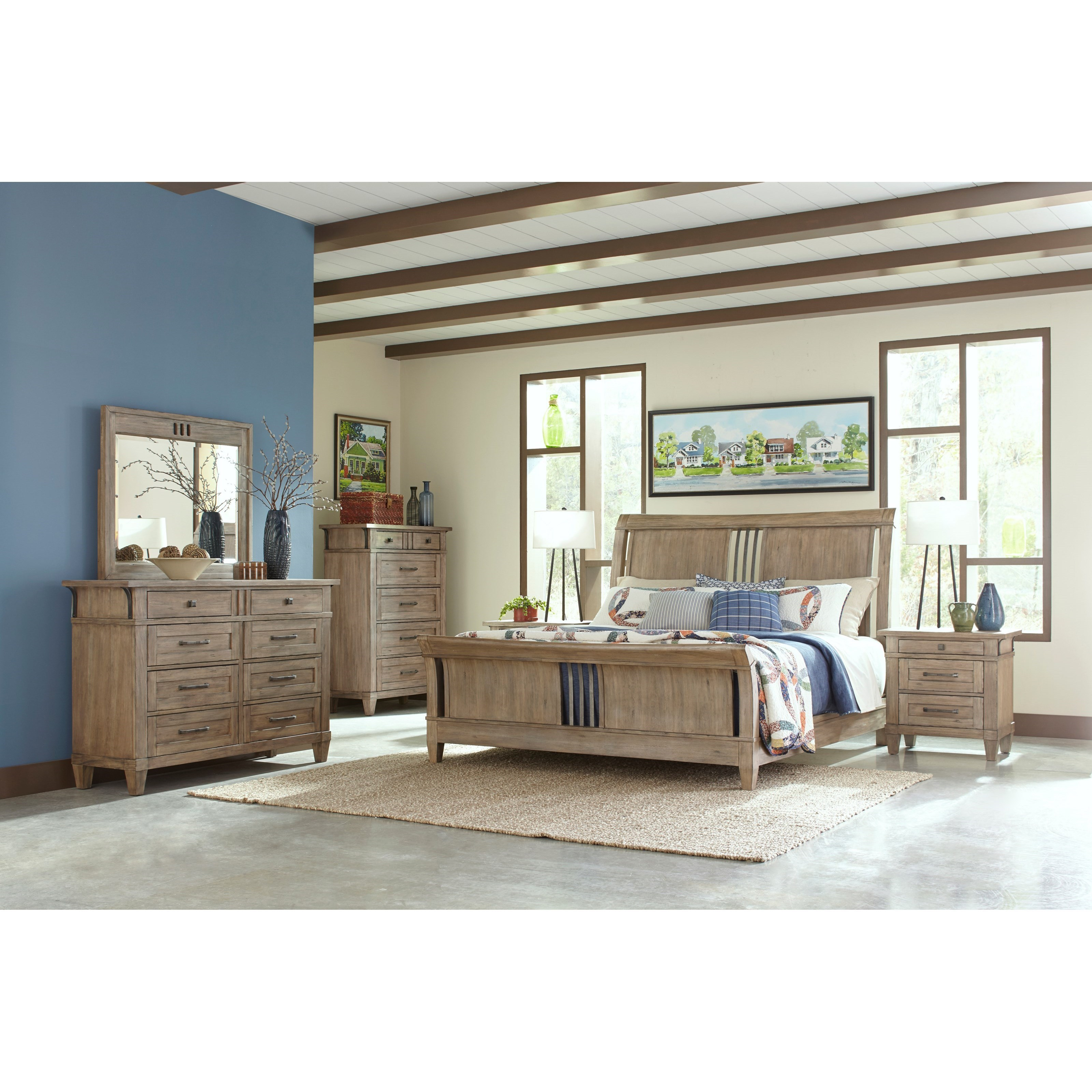 Reflections King Bedroom Group By Carolina Preserves By Klaussner