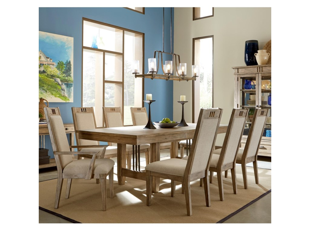 Carolina Preserves by Klaussner Reflections9 Pc Dining Set