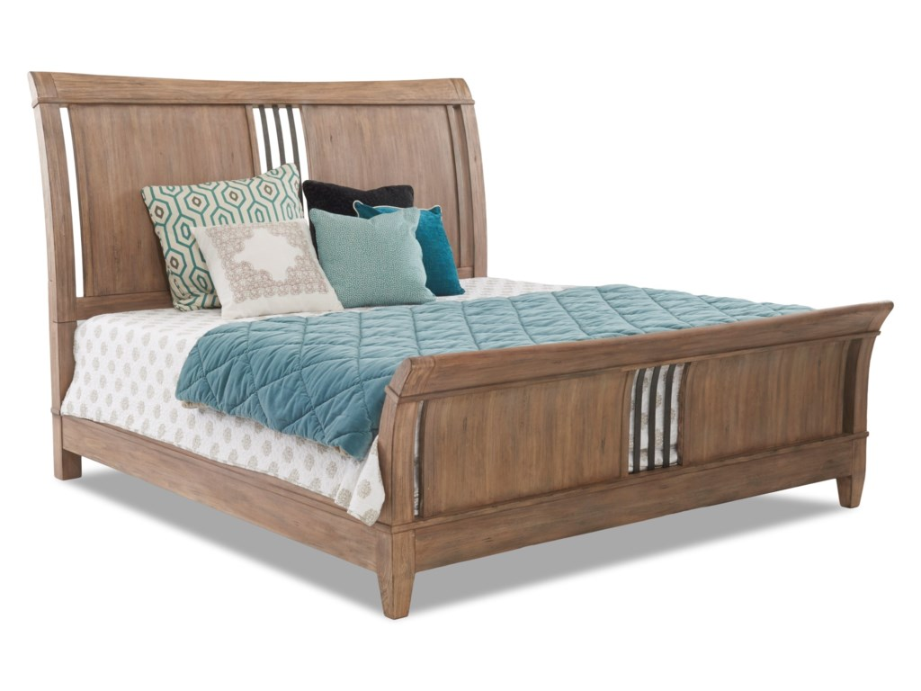Carolina Preserves by Klaussner ReflectionsRetreat Queen Sleigh Bed