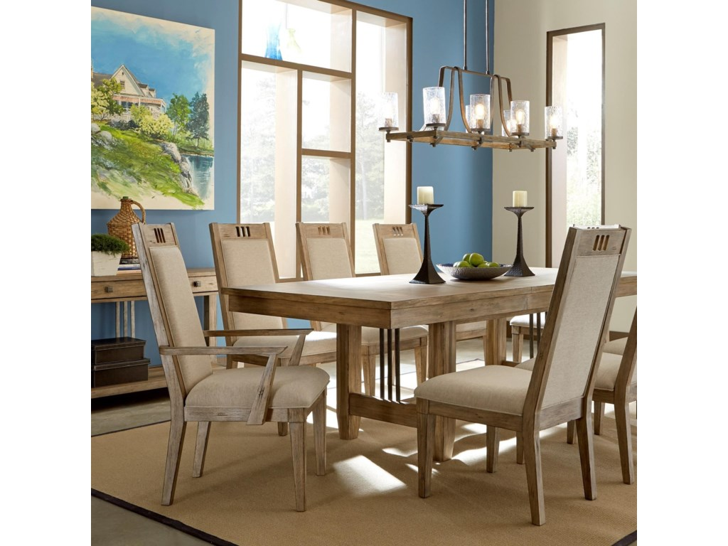 Carolina Preserves by Klaussner ReflectionsUpholstered Dining Arm Chair