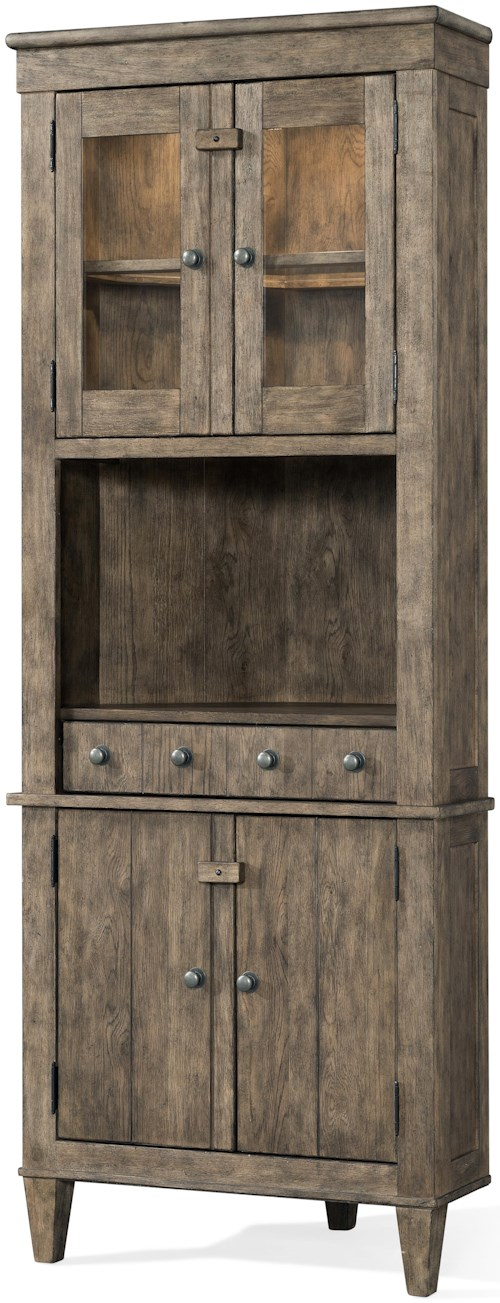 Carolina Preserves by Klaussner Riverbank 'Waterfall' Corner Cabinet