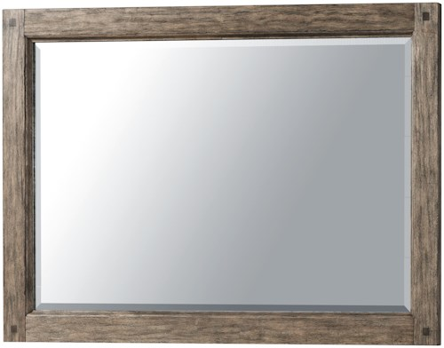 Carolina Preserves by Klaussner Riverbank Beveled Glass Mirror