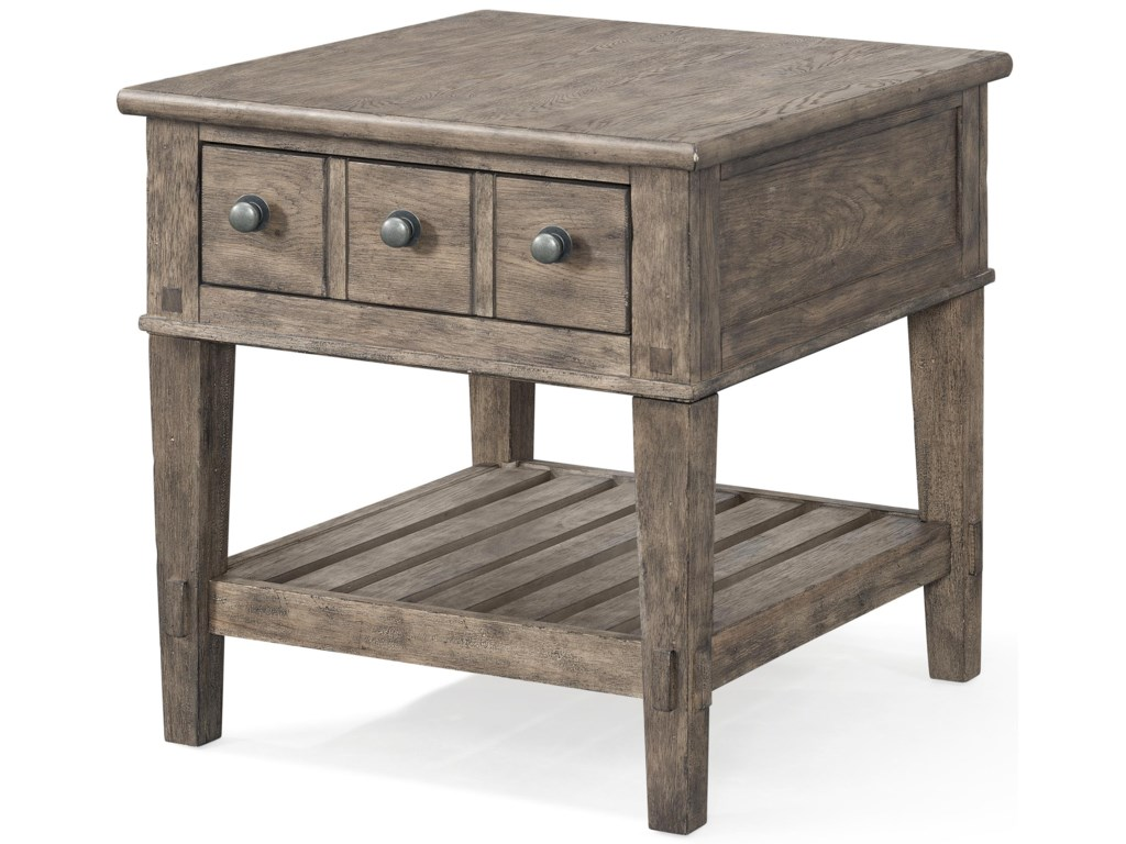Carolina Preserves by Klaussner RiverbankEnd Table