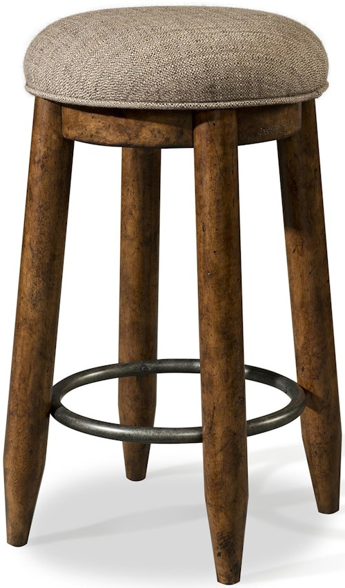 Carolina Preserves by Klaussner Southern Pines Stool with Upholstered Seat
